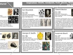 GCSE Art Knowledge Organisers BUNDLE