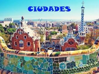 GCSE Spanish Booklet - 5 Ciudades (Higher)