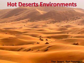 KS Deserts Hot Desert Environments By Markalanwilliams - A hot desert