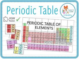 Periodic Table - Jigsaw Puzzle (KS3/4) | Teaching Resources