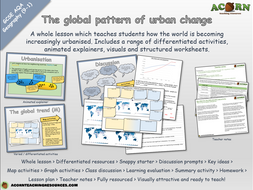 Unit-2---Section-A---The-global-pattern-of-urban-change---AcornTeachingResources.pptx