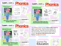Learn To Read With Phonics (Bundle 7)