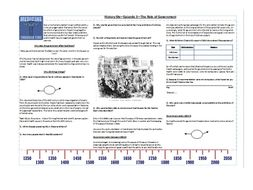 BBC History File - Medicine Through Time - Eps.1,2,3 & 5 Supporting Worksheets