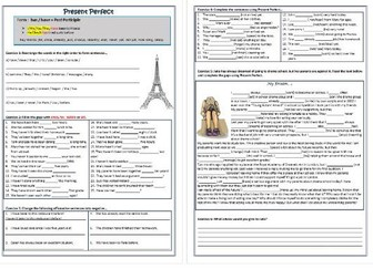 Grade 4 Science Worksheets Present Perfect Perfect And Present Perfect Continuous Bundle  Common Core Subtraction Worksheets Pdf with Worksheets Adding Fractions Excel Present Perfect Tense Worksheet  Affirmative Interrogative Negative  Grammar Practice Place Value To Millions Worksheets Word