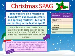 Christmas English