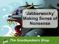 jabberwocky making sense of nonsense ks2 ks3 poetry by goodeyedeers teaching resources. Black Bedroom Furniture Sets. Home Design Ideas