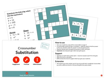 Substitution (Crossnumber)