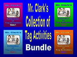 Collection of Tag Activities Bundled