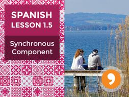 Spanish Lesson 1.5: Synchronous Component - Teacher Notes
