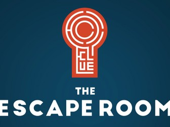 Escape Room Experience in the Classroom