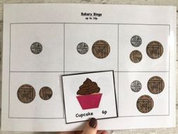 Money - Bakery Bingo Revision Game