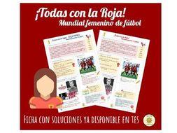 Mundial femenino de fútbol 2019. España. Women's Football World Cup 2019. Spain