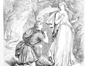 A Midsummer Night's Dream (Shakespeare) - Act 3, Scene 2 - WORKSHEETS + ACTIVITIES + ANSWERS