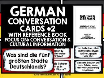 GERMAN CONVERSATION CARDS #2