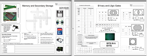 KS3/KS4 Computer Science Revision Maps by rbegteach