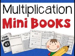 Multiplication Mini Books - x1 through x10