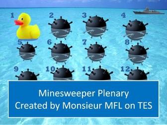 Minesweeper Plenary Game