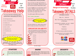 KS3 Takeaway Homework