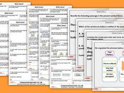 Grammar Year 5 Which tense? Spring Block 3 Step 9