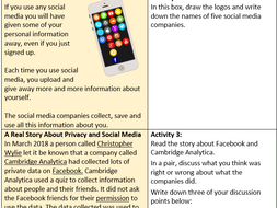 Cyber Security and Data Privacy (GCSE)
