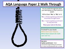 AQA English Language Paper 2 - Section A Walkthrough / Revision