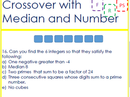 Crossover with Median and Number