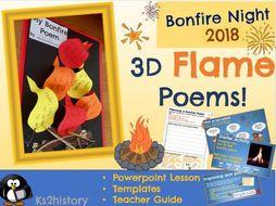 Bonfire Night - 3D Fire Poetry