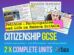 GCSE Citizenship AQA
