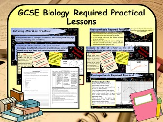 New 1-9 GCSE Science (Biology) Required Practical Lessons