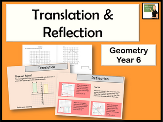 Maths- Geometry- translation and reflection Year 6