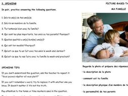 """French GCSE revision Identity and Culture """"Who am I?"""""""