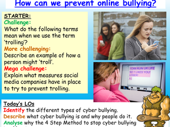 Cyber Bullying - Internet Safety