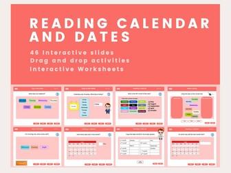 Calendar & Dates - Year 2, Key stage 1
