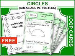 Circles and Part-Circles (Loop Cards)