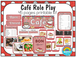 Cafe Role Play