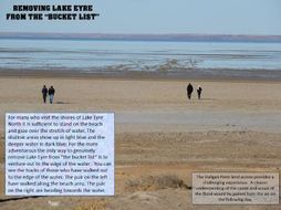 THE LAKE EYRE FLOOD  OF 2019 PART 1  -REACHING THE EDGE OF THE FLOOD BY ROAD