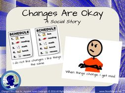 Social Story- Changes are Okay