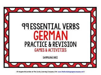 GERMAN VERBS PRACTICE & REVISION (3)