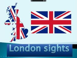 K, 1 &2 series of 5 cross curricular powerpoint lessons about London sights