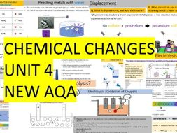 AQA Combined Science Trilogy - Chemistry Whole Unit 4 - Chemical Changes