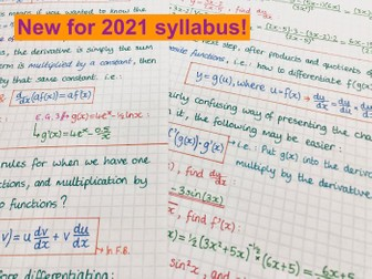 IB Maths AA SL - Topic 5 Calculus Notes