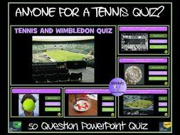 Wimbledon/ Tennis Quiz