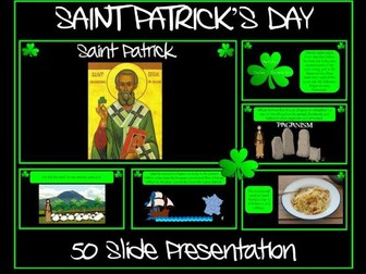 Saint Patrick's Day Presentation