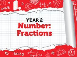 Year 2 - Fractions - Spring - Weeks 8 - 10