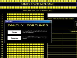 Family Fortunes Game