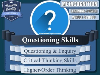 Questioning Skills Training Sessions (x5) [Metacognition, Metacognitive Tool - 12/20]