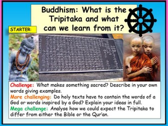 Buddhism - Holy Texts
