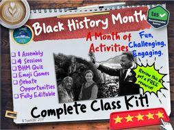 Black History Month Kit