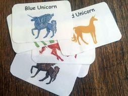 Unicorn Flash Cards
