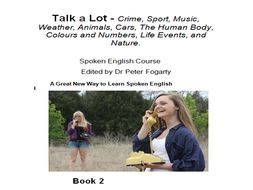 Talk a Lot - Crime, Sport, Music, Weather, Animals, Cars, The Human Body, Colours and Numbers, Life